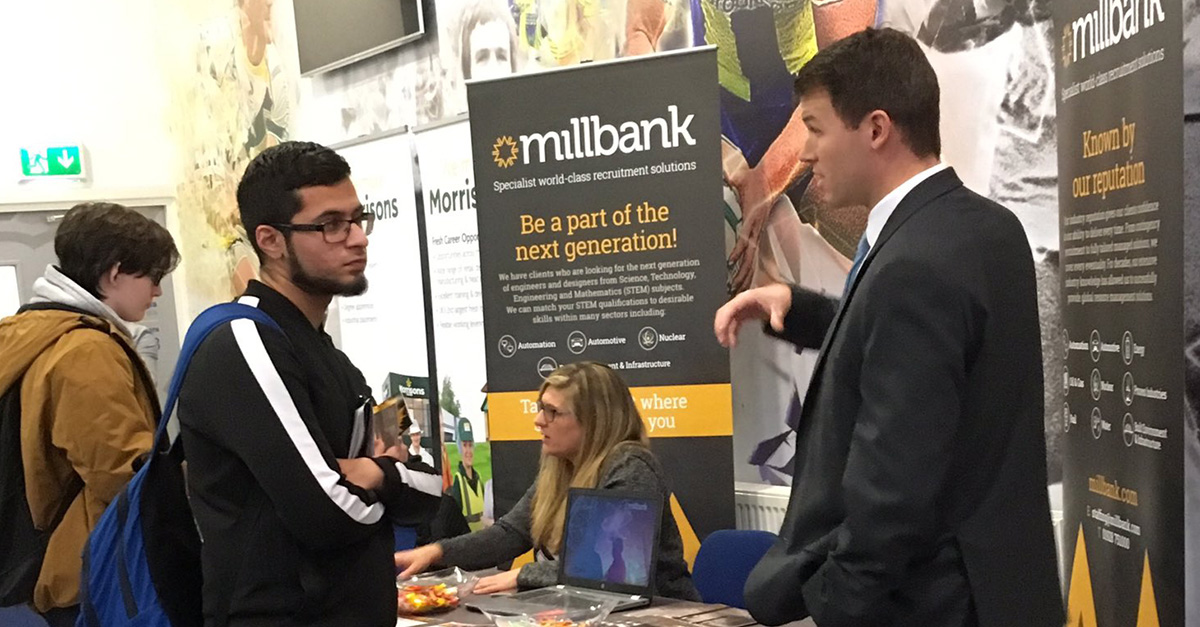 Millbank at Engineering Your Future STEM event