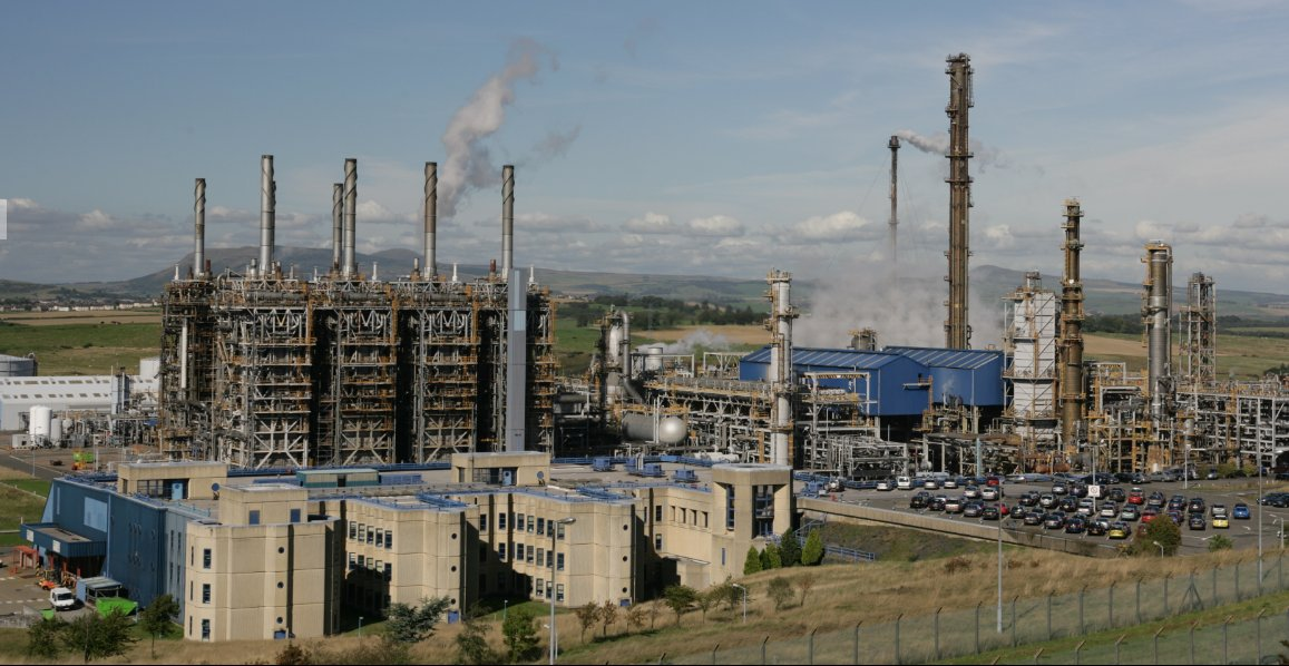Bilfinger provides maintenance to ExxonMobil Fife Ethylene Plant (FEP) in Mossmorran, Scotland